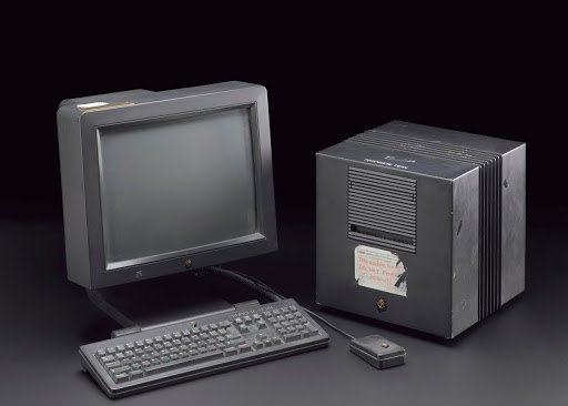 Original NeXT computer used by Sir Tim Berners-Lee to design the World Wide Web