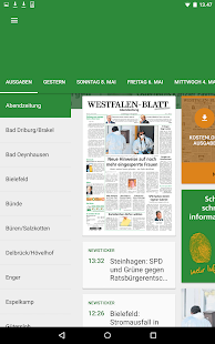 Westfalen-Blatt- screenshot thumbnail