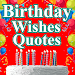 Birthday Wishes Quotes Messages icon