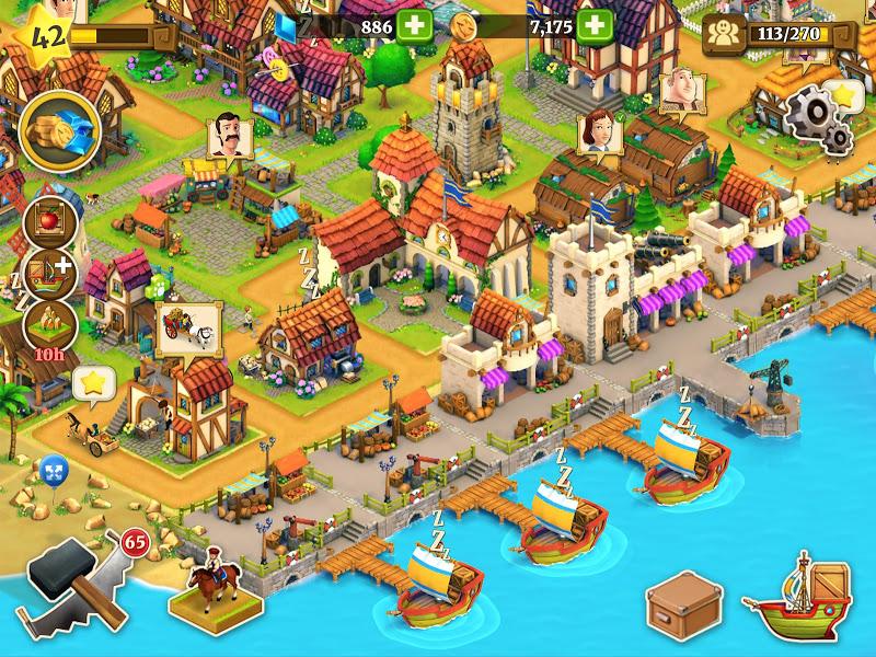 Town Village: Farm, Build, Trade, Harvest City Screenshot 10