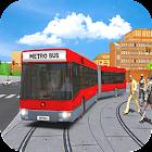 Modern Metro Bus: Bus Transport Sim 3D icon