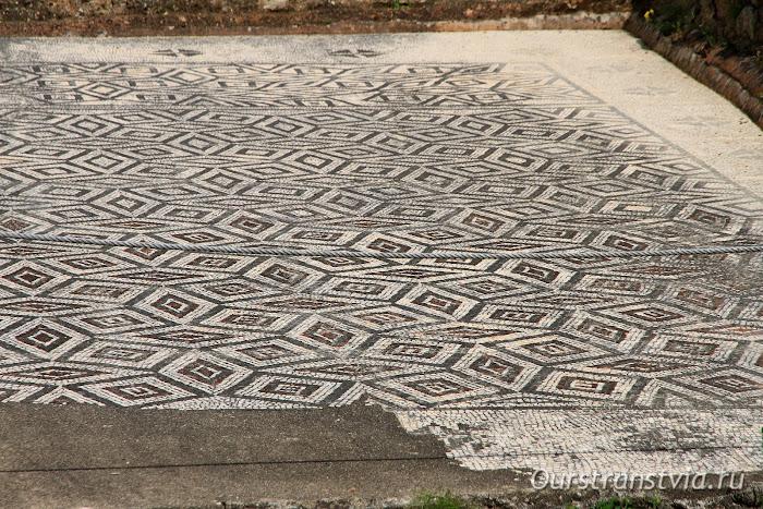 Мозаичные полы в Конимбриге, Португалия