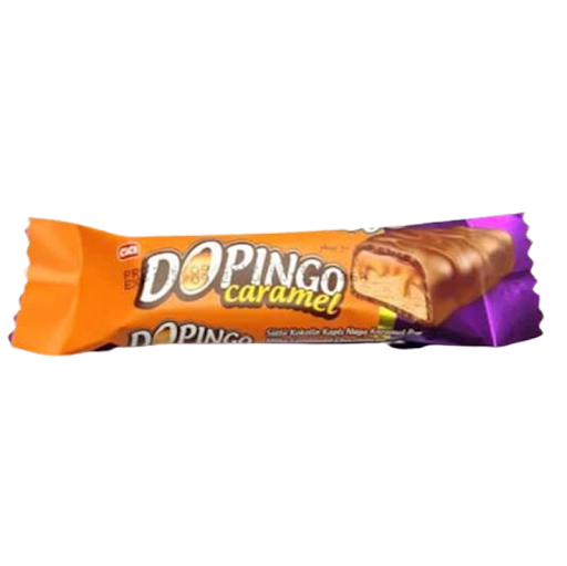 chocolate dopingo caramel 20 gr