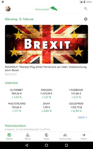 Börse & Aktien - BörsennewsApp  screenshots 14