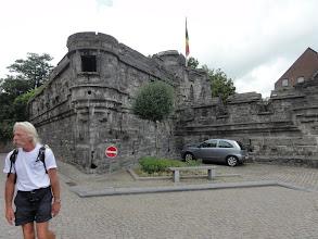 Photo: Aan het kasteel van Antoing