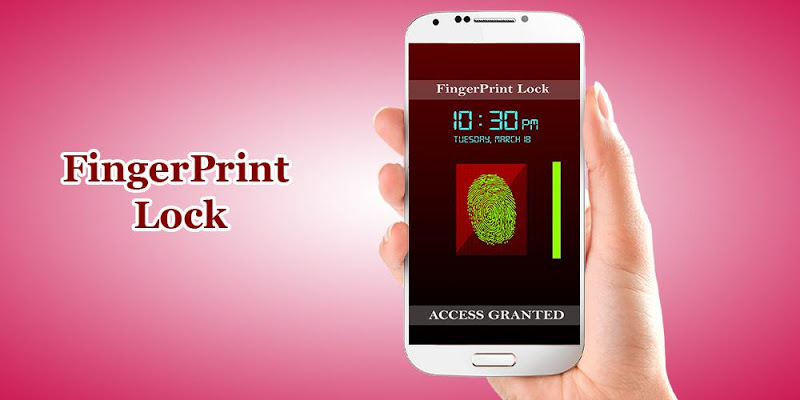 Real Fingerprint Lock Prank - screenshot