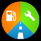 Motolog: frais de voiture, suivi d'itinéraire GPS icon
