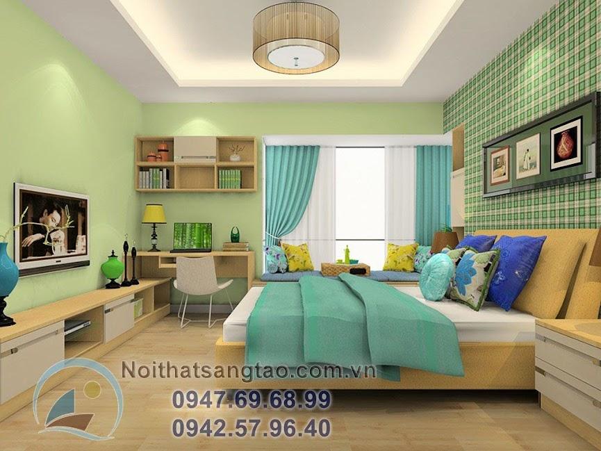 thiết kế phòng ngủ cho người mênh mộc hiện đại
