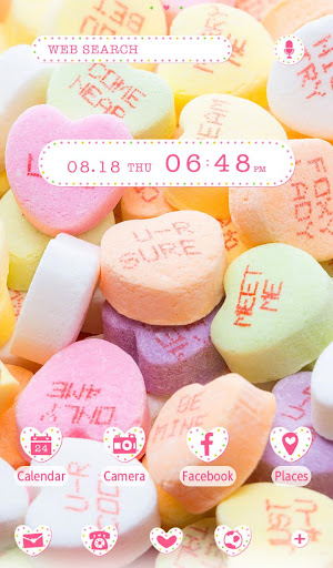 Sweets Wallpaper Candy Hearts 1.0.0 Windows u7528 5