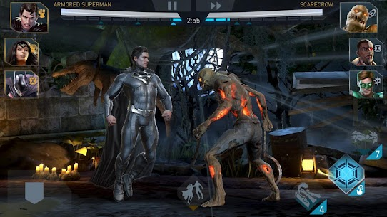 Injustice 2 Apk Mod God Mod + Hit Kill 6