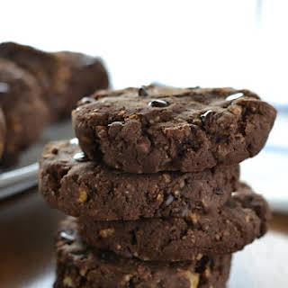 Gluten-free Chai Chocolate Chocolate Chip Cookies.