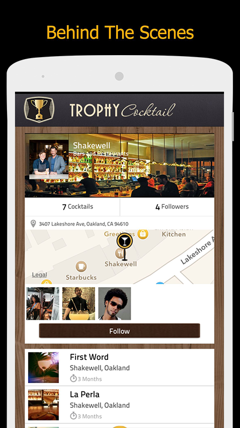 TrophyCocktail- screenshot