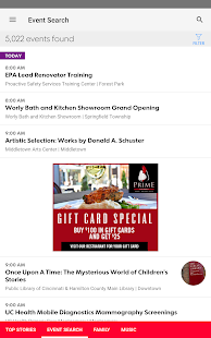 Cincinnati.com Things to Do- screenshot thumbnail