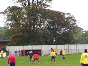 Photo: 09/10/10 v Chalfont St Peter (South Mids eague Prem Div) 1-4 - contributed by Bob Davies