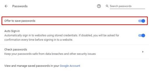 How to Generate Secure Password with Google Chrome