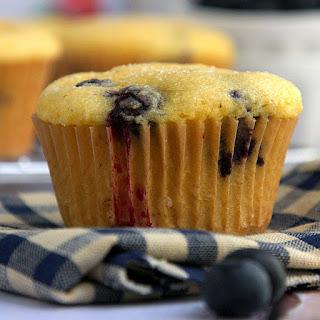 #MuffinMonday – Blueberry Cornbread Muffins