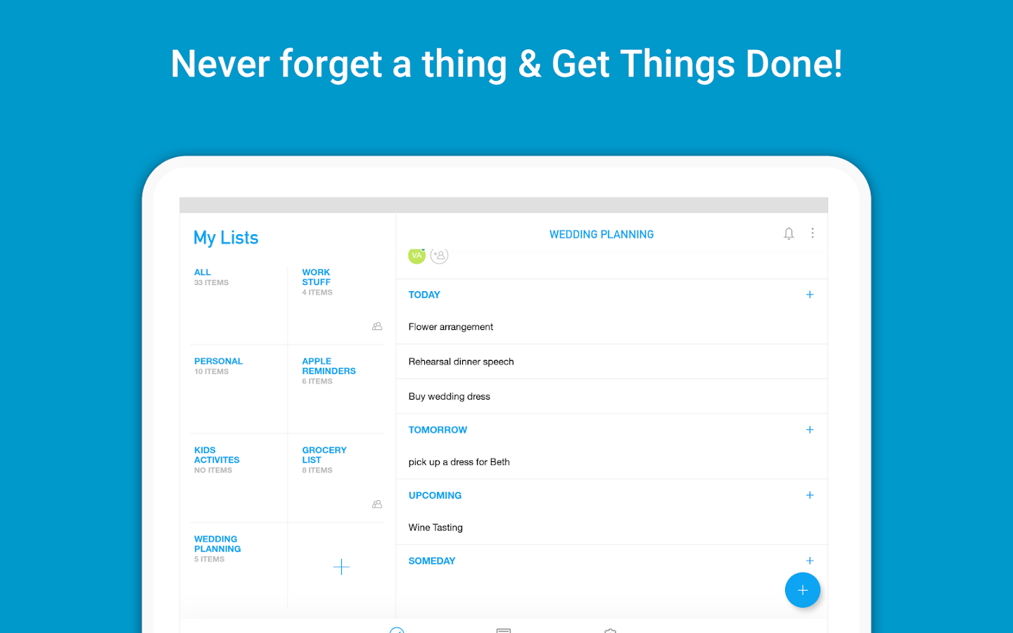 Any.do: To-do list & Calendar- screenshot