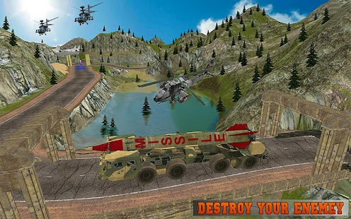 Missile Attack Army Truck 2017- screenshot thumbnail