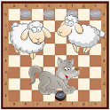 Wolf and Sheep (board game) icon