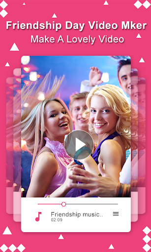 Friendship Day Video Maker with Song 2018 screenshot 3