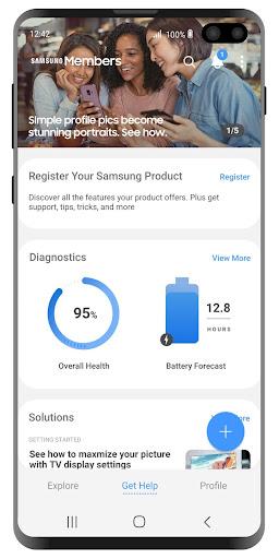 Samsung Members 12.01.05.0 screenshots 2