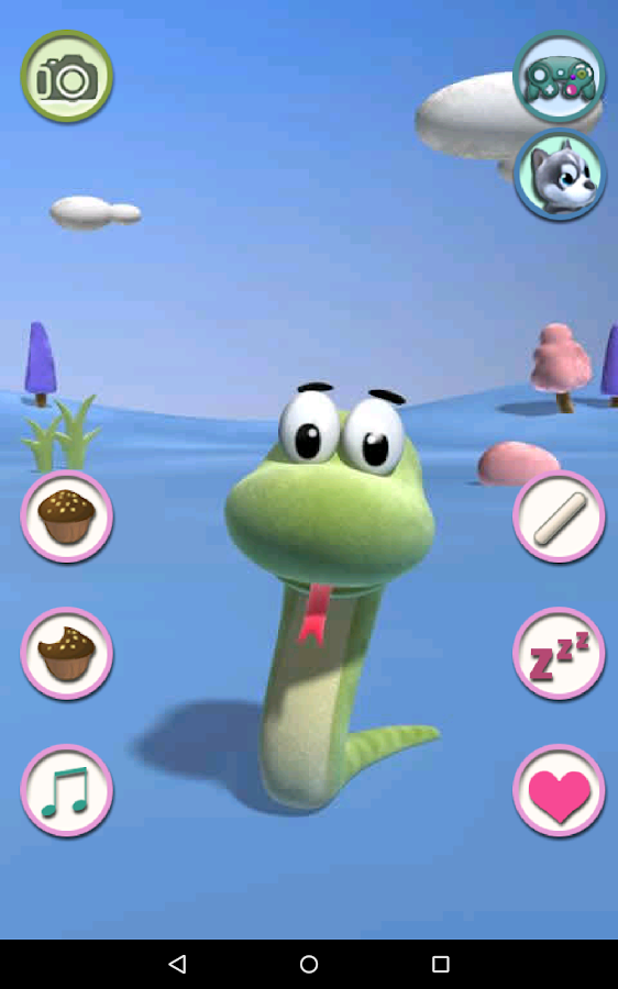 Talking Snake- screenshot
