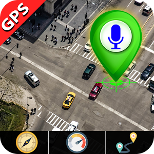 GPS Satellite View Live Earth Map Voice Navigation for pc