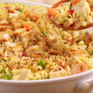 Country-Style Turkey & Rice Casserole