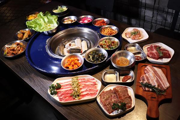Bungy Jump Korean BBQ 笨豬跳京華城店,台北美食,美式韓風燒肉,汽油桶烤肉,專人烤肉,內含最新菜單