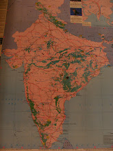 Photo: The map of India