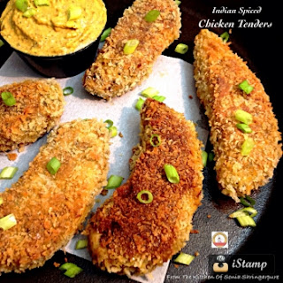 Indian Spiced Chicken Tenders.