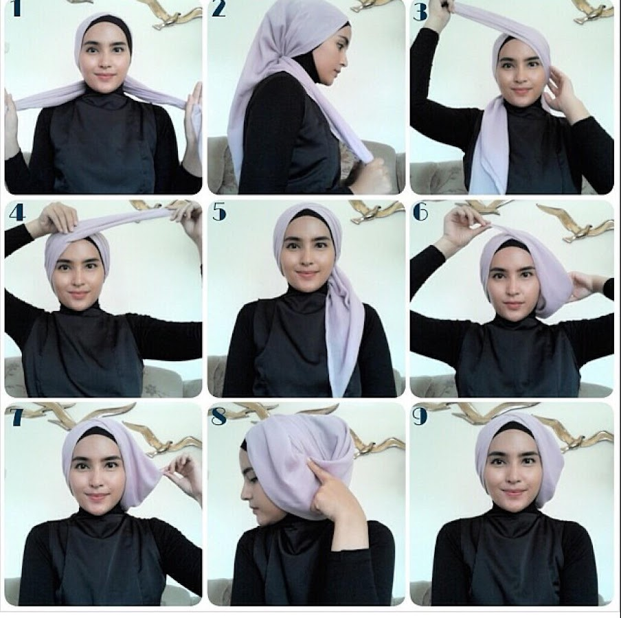 Tutorial Hijab Pashmina Android Apps On Google Play