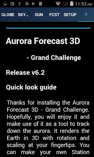Aurora Forecast 3D Screenshots 5