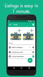 Tradly - Chat, Buy, Sell & Donate stuff you love- screenshot thumbnail