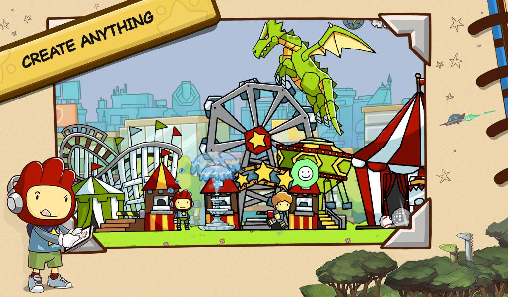 Scribblenauts Unlimited screenshot #1