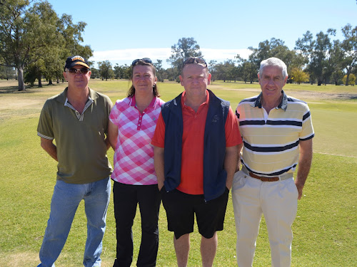 Scott Stanford, Fiona and Andrew Smart and Terry Lennox.