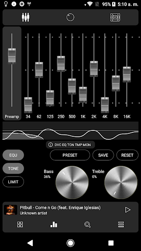 Screenshot for Poweramp v3 skin colorful metal in United States Play Store
