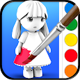 ColorMinis - Color & Create real 3D art apk