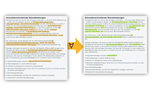 Ungender Deutsch