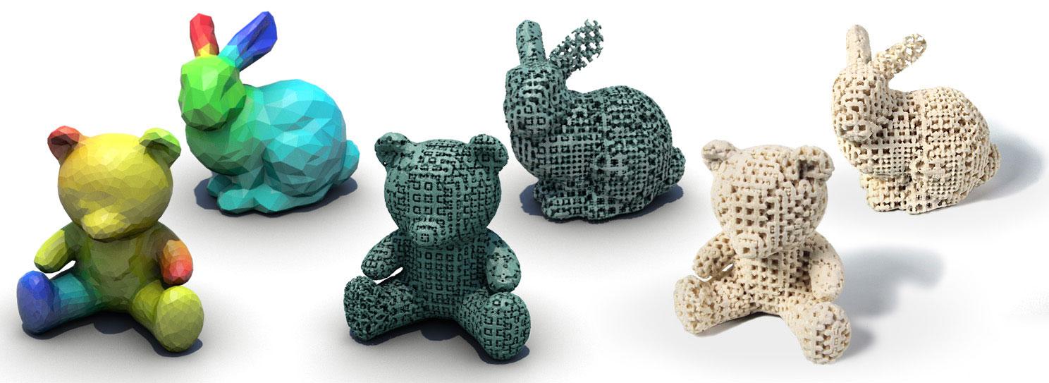 Disney создает 3D-печатные игрушки разной эластичности определенных деталей