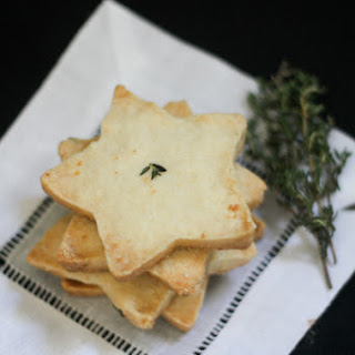 Lemon and Thyme Cut-Out Cookies