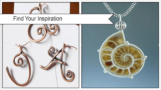 Beauty Wire Jewelry Design Ideas - náhled