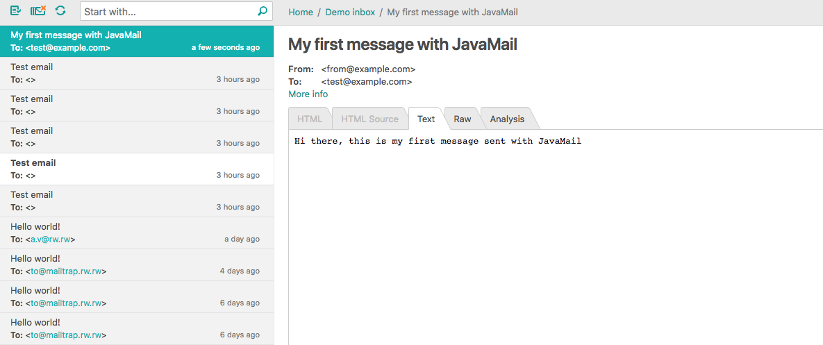 Sending Email Using Java - Latest Guide - Mailtrap Blog
