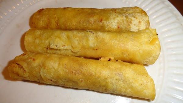 Individual Quick No Bake Enchiladas Recipe