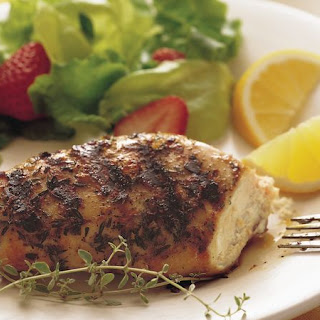 Grilled Lemon Thyme Chicken Breasts Recipe