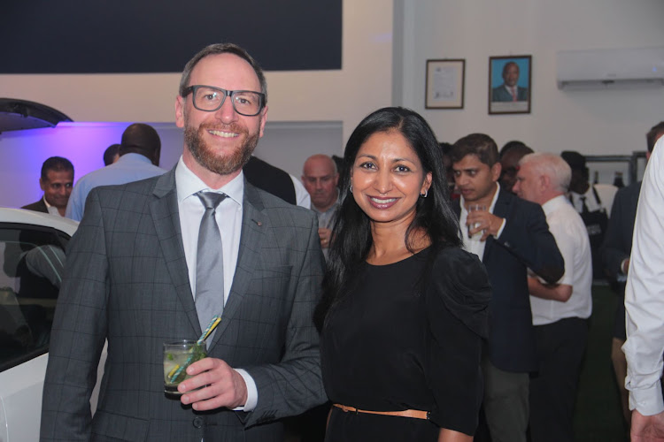 Head of sales Marcus Butros and sub-Sahara director Rochelle Ready