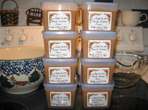 Peach Freezer Jam Recipe