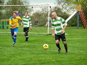 Photo: 05/04/14 v Cornerstone (Hertford & District League Division One) 1-1 - contributed by Bob Davies