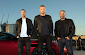 Freddie Flintoff having fun on Top Gear