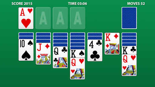 Solitaire. Screenshot